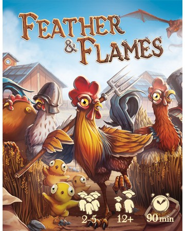 Feather & Flames – Illustration & Graphic