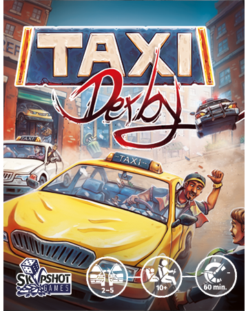 Taxi Derby – Illustration & Graphic